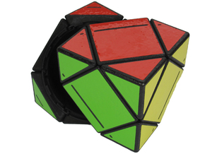 Treasure Skewb in White Strong & Flexible