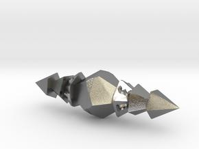 Eldritch d10 in Natural Silver