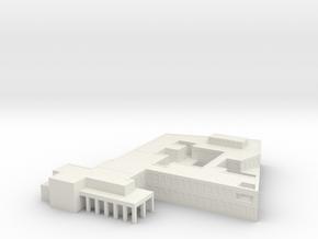1/700 SAC Office 1 in White Natural Versatile Plastic