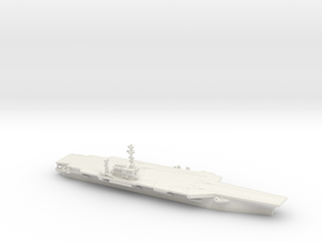 1/1800 USS Kitty Hawk CV-63 in White Natural Versatile Plastic