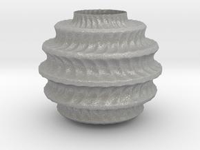 TwBox Vase  (downloadable) in Aluminum