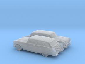 1/110 1957 Pontiac Safari in Smooth Fine Detail Plastic