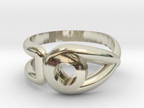 Cancer Survivor Ring in 14k White Gold: 6.5 / 52.75