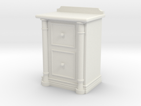Bedside Cabinet in White Strong & Flexible