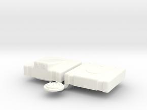 1/12 Fuel Cell Jaz 5gal 13 13 8 Sump in White Processed Versatile Plastic