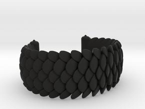 Scale 2016 Cuff Medium in Black Premium Versatile Plastic