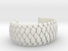 Scale 2016 Cuff Medium in White Premium Versatile Plastic