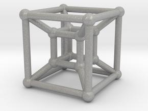 HyperCube (Miniature) in Aluminum