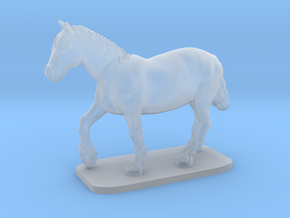 Heavy Horse in Smooth Fine Detail Plastic