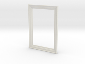 Frame 1 in White Natural Versatile Plastic