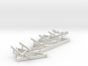 1/35 USN PT Boat Cradle in White Natural Versatile Plastic