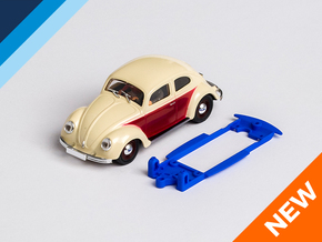 1/32 Pink-Kar VW Beetle Chassis for IL pod in Blue Processed Versatile Plastic