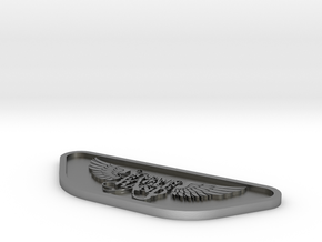 ScreaminEagle 3d Model Print A2 SCALED in Natural Silver