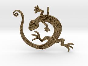 Lizard Dance in Natural Bronze