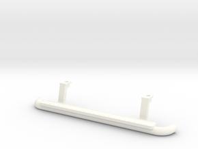 Side step running board D110 Team Raffee in White Processed Versatile Plastic