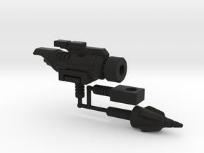 Dinobot Slug's Cannon, 5mm (PotP) in Black Natural Versatile Plastic
