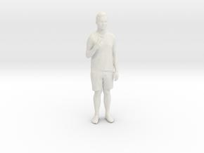 Printle C Homme 128 - 1/32 - wob in White Natural Versatile Plastic