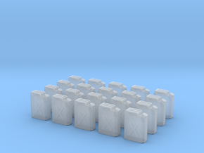 x20 Jerrycan in Smoothest Fine Detail Plastic