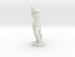 Venus de Milo Stormtrooper Statuette in White Natural Versatile Plastic: Medium