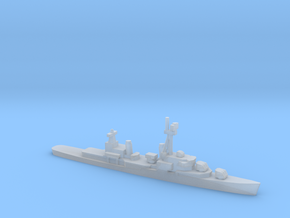 Gearing-class destroyer (FRAM 1A), 1/1800 in Smooth Fine Detail Plastic