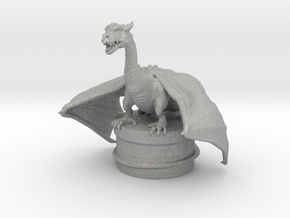 Fantasy Dragon Bottlestopper in Aluminum