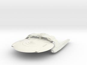 Federatoin  SeaHawk Class  BattleCruiser in White Natural Versatile Plastic