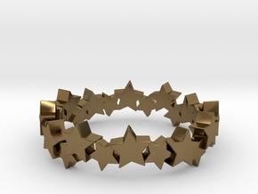 Stellar Ring in Polished Bronze: 4 / 46.5