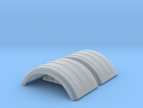MIN150 2x 1/64 fenders in Smooth Fine Detail Plastic