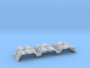 MIN300 2x 1/64 fenders in Smooth Fine Detail Plastic