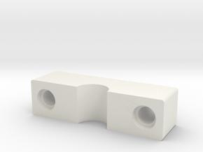 Saitek Pro Flight Rudder Pedals footbrake axis in White Natural Versatile Plastic