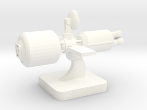 Mini Space Program, Interplanetary Ship 1 in White Processed Versatile Plastic