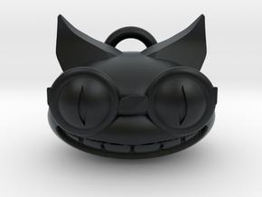 Genki holiday ornament in Black Hi-Def Acrylate