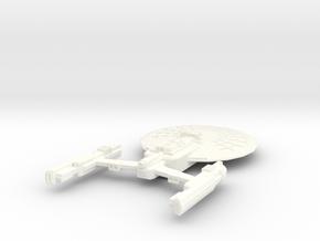 USS Eiffel in White Processed Versatile Plastic