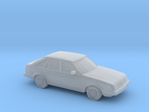 1/220 1985-87 Ford Escort in Smooth Fine Detail Plastic