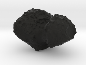 Churyumov-Gerasimenko 67P in Black Natural Versatile Plastic