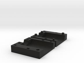 Amiga HDMI Mounting Bracket in Black Natural Versatile Plastic