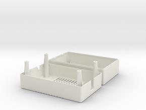 Mean Well PT-45B / PT-65B PSU Case in White Natural Versatile Plastic