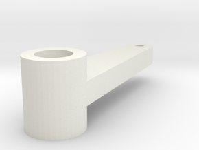 Gauge 3 L&Y D21 Brake crank in White Natural Versatile Plastic