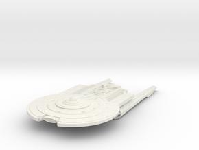 Federation YorkTown Class II  Cruiser in White Natural Versatile Plastic