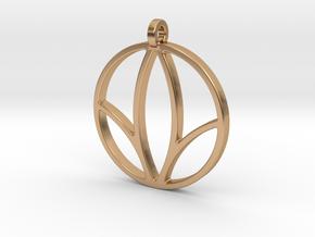 Herbalife Nutrition Pendant_V_1 in Polished Bronze