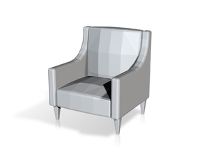 Printle Thing Armchair 06 - 1/43 in Smooth Fine Detail Plastic