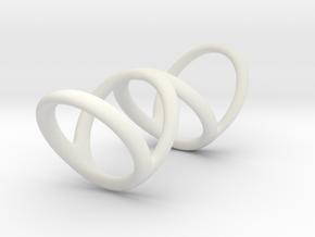 Ring for Bob L1 7-8 L2 1 3-8 D1 5 1-2 D2 6 D3 7_ in White Natural Versatile Plastic