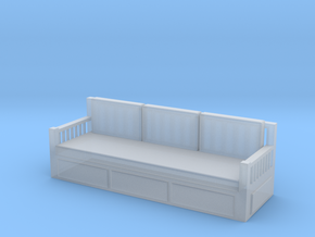 Printle Thing Sofa 03 - 1/43 in Smooth Fine Detail Plastic