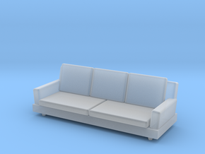 Printle Thing Sofa 04 - 1/43 in Smooth Fine Detail Plastic