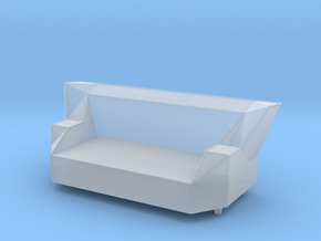 Printle Thing Sofa 08 - 1/43 in Smooth Fine Detail Plastic