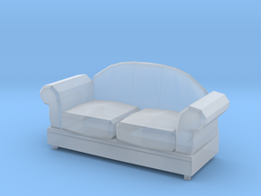 Printle Thing Sofa 09 - 1/43 in Smooth Fine Detail Plastic