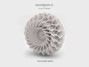 Noumenon 01 in White Natural Versatile Plastic