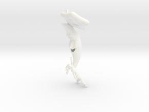 Stargazer in White Processed Versatile Plastic
