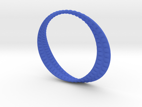 Shape 05a8 in Blue Processed Versatile Plastic