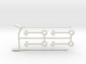 #160-1491 Jewett 1916 add-ons (1x) in White Natural Versatile Plastic